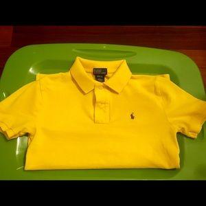 Ralph Lauren Boys cotton mesh polo shirt